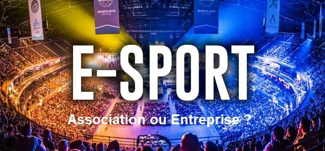 Créer sa structure/son équipe E-Sport